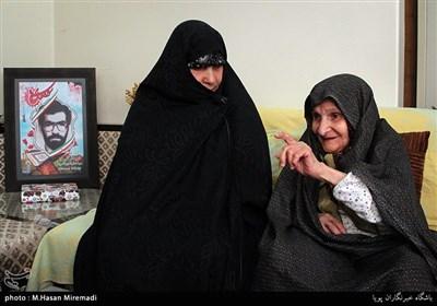 دیدار جامعه قرآنی با خانواده شهید سیدکمال الدین کامروا