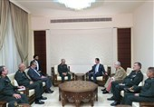 سردار باقری با بشار اسد دیدار کرد + تصاویر