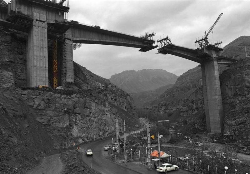 قطعه یک آزادراه تهران-شمال 3 روز دیگر زیر عبور آزمایشی میرود؟