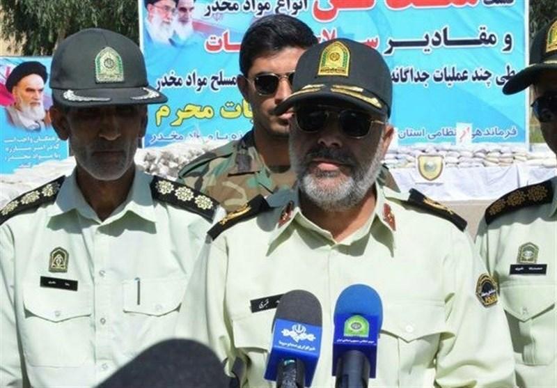 انهدام باند مسلحانه مواد مخدر در ایرانشهر/ یک تن و 178 کیلوگرم تریاک از سودگران مرگ کشف شد