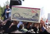 2 شهید گمنام در حوزه علمیه مروی به خاک سپرده شدند