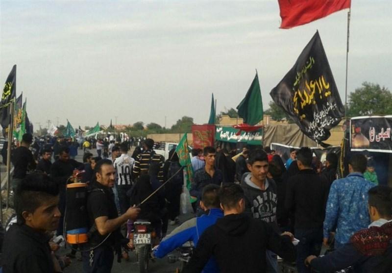350 موکب در شهرستان شوش به زائران حسینی خدمت میکنند