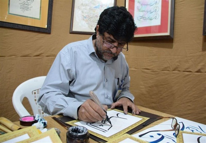 نمایشگاه خوشنویسی استاد اسماعیلیمود در عراق برپا میشود