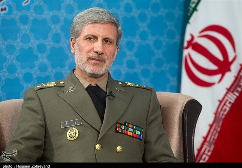 Iran's Defense Minister: Inaction on US Lawlessness to Create New Hitlers