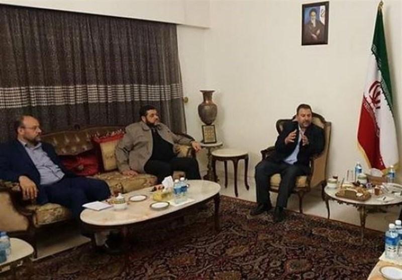 وفد من قیادة حماس یصل طهران