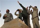 صور جدیدة لزیارة اللواء باقری لمناطق العملیات فی سوریا