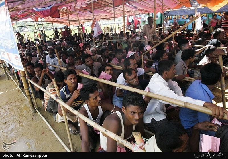 ایران تؤکد على مواصلة مساعداتها لمسلمی میانمار