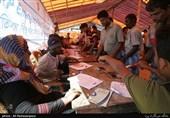 کمپ آوارگان میانمار