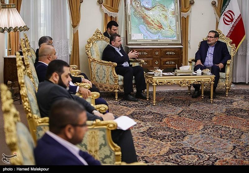 ماهی رسائل زیارة وفد حماس الى طهران؟
