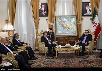 لقاء شمخانی بنائب رئیس المکتب السیاسی لحماس