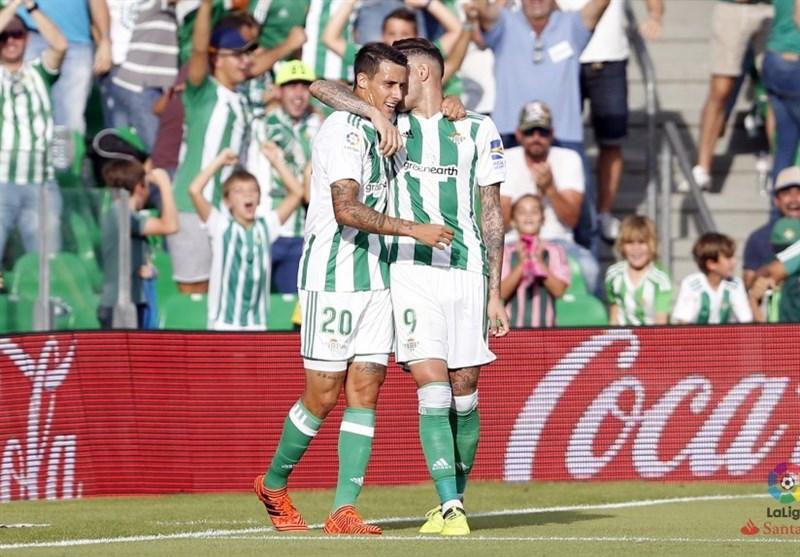 لالیگا| برتری رئال بتیس مقابل تیم سقوط کرده