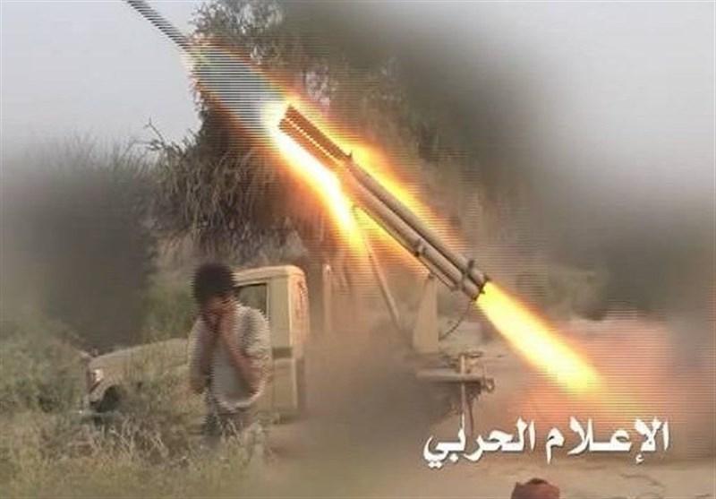 القوة الصاروخیة والمدفعیة تدک تجمعات وتحصینات للجیش السعودی بجیزان