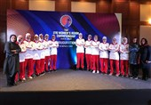 ایران رسماً به مسابقات برگشت/ دختران کشورمان امروز به مصاف نپال میروند+عکس