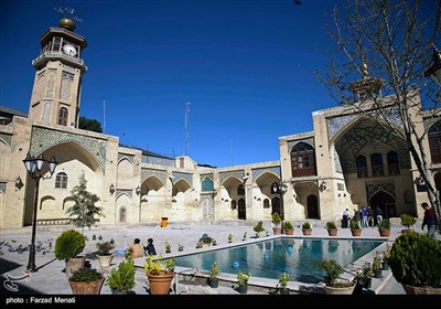 مسجد عماد الدولة التاریخی فی کرمانشاه