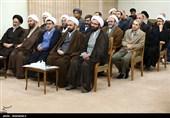 دیدار دستاندرکاران بزرگداشت آیتالله سیدمصطفی خمینی با مقام معظم رهبری