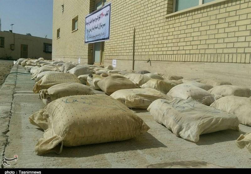 کشفیات مواد مخدر در سیستان و بلوچستان