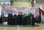 آئین خطبهخوانی حضرت زینب کبری(س) در قرچک برگزار شد