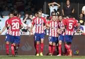 اتلتیکو مادرید برد و جای رئال در رده سوم را گرفت