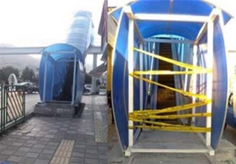 حکایت دربهای همیشه بسته و پلههای خاموش پل هوایی میدان آزادی سنندج