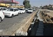 ترافیک معابر شهری کرمانشاه در آستانه اربعین افزایش یافت