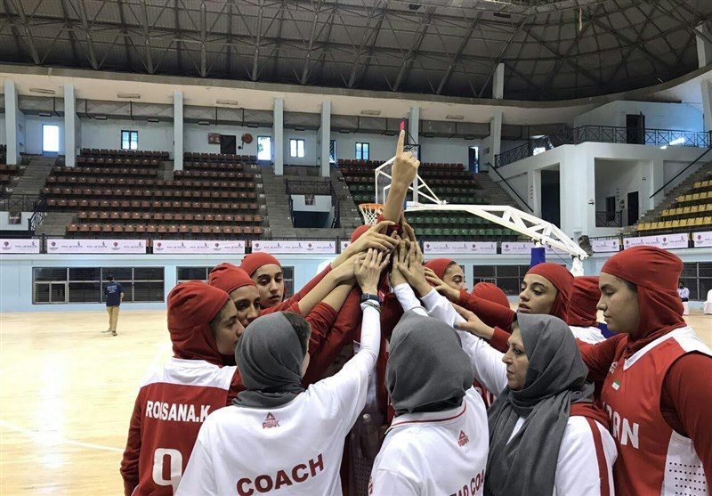 Iran Beats Nepal at FIBA U-16 Women's Asian Championship