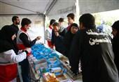 اخبار اربعین 98| خدماترسانی امدادگران هلال احمر چهارمحال و بختیاری به زائران در مرز چذابه