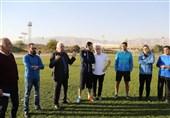حضور قراب در تمرین استقلال و جلسه با شفر