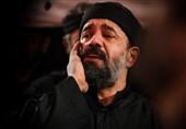 مرثیه سرایی محمود کریمی در شب هفتم ماه محرم الحرام