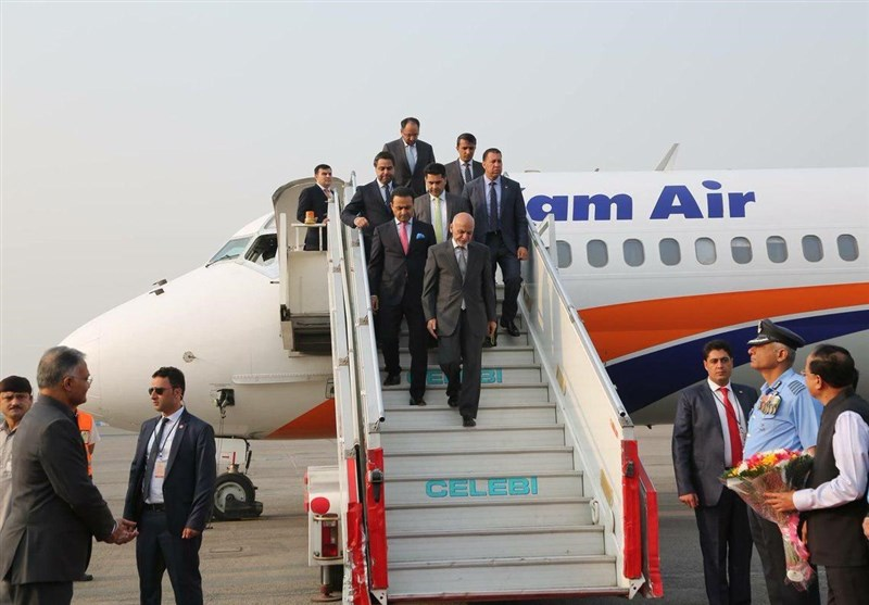 افغان صدر نئی دہلی پہنچ گئے + تصاویر
