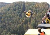 سوار بر منجنیق به عمق دره 270 متری پرتاب شوید +فیلم