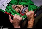 وداع با پیکر مطهر شهید مدافع حرم، مصطفی نبیلو+ عکس و فیلم
