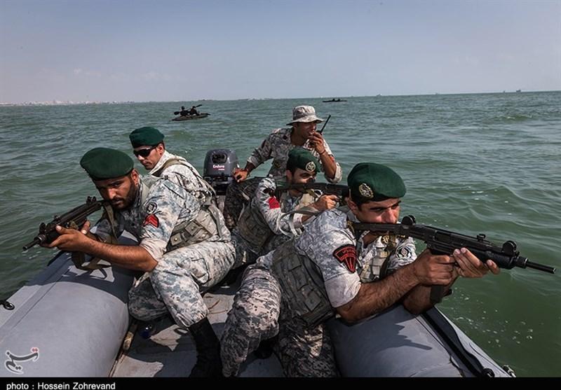 نتیجه تصویری برای تکاوران نیروی دریایی ارتش ایران