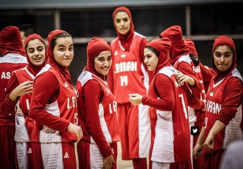 Iran Finishes Fourth at FIBA U-16 Women's Asia Championship