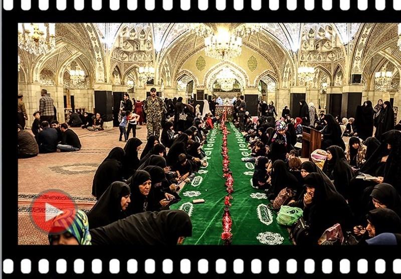 دمشق میں حضرت رقیہ بنت الحسین کی شہادت عقیدت واحترام سے منائی گئی + ویڈیو اور تصاویر