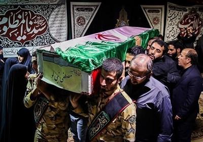مراسم وداع با پیکر شهید مدافع حرم مصطفی نبیلو