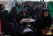 کاروان 40 هزار نفری سفینهَ النجاهَ اهواز میهمان روستای جلالیه شد
