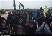 کاروان 40 هزار نفری سفینهَ النجاهَ اهواز به کوت سید نعیم رسید