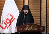 شعرخوانی سیده فرشته حسینی در یازدهمین محفل شعر قرار+فیلم