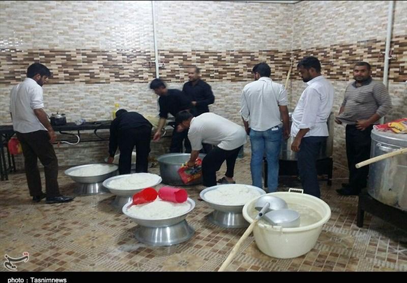 """""""رقابت"""" خادمان سیستان و بلوچستان در خدمترسانی به زائران حسینی(ع) + تصاویر"""