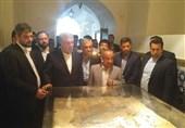 بازدید رئیس سازمان میراث فرهنگی از موزه و گرمابه تاریخی «پهنه» سمنان+ تصاویر