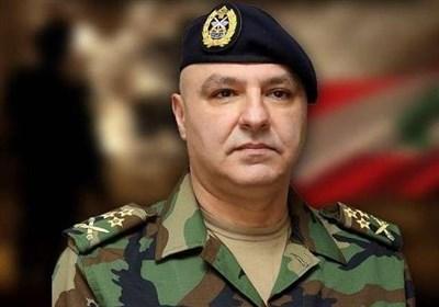 فرمانده ارتش لبنان: به اسرائیل اجازه خدشه به حاکمیت خود را نمی دهیم