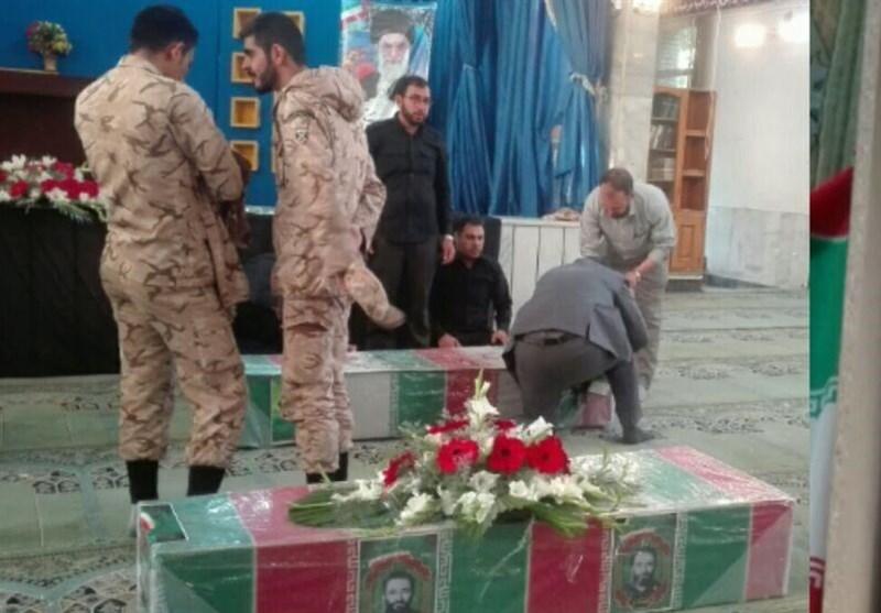 آغاز مراسم تشییع 2 شهید مدافع حرم و 5 شهید دفاع مقدس در اصفهان