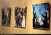 نمایشگاه عکس سوگواره عاشورایی در قم به روایت تصویر