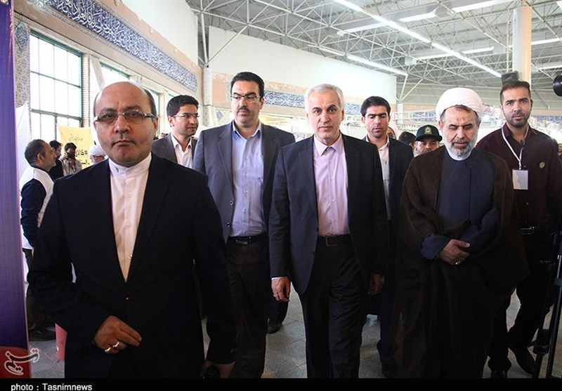 آیین افتتاح نمایشگاه کتاب خراسان شمالی به روایت تصویر