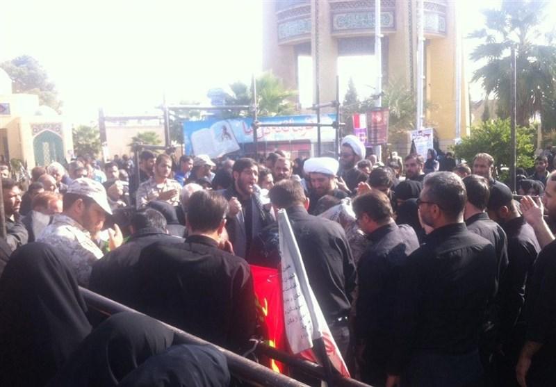 """از """"امن یجیب"""" تا دستان گره خورده مردم؛ گلستان شهدا چشم به راه شهداست + تصاویر"""