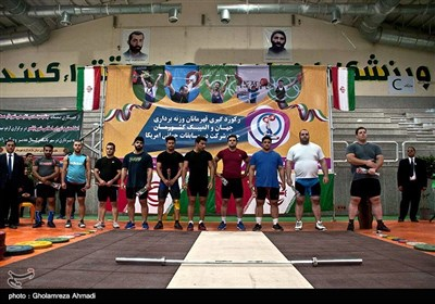 رکوردگیری تیم ملی وزنه برداری