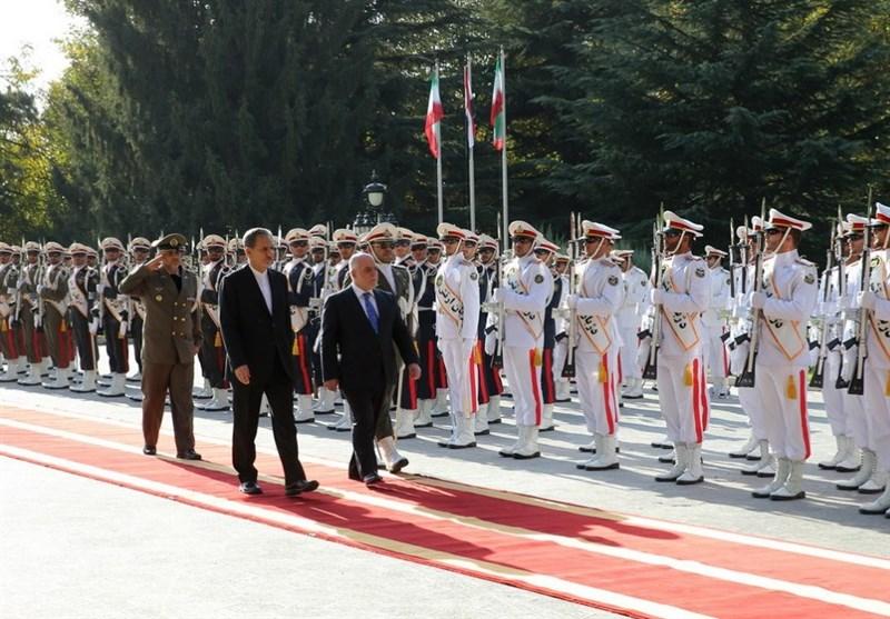 استقبال رسمی لرئیس الوزراء العراقی فی طهران