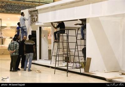 آماده سازی بیست و سومین نمایشگاه مطبوعات