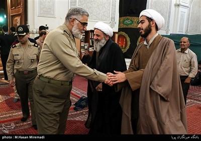 امیرپوردستان در یادواره شهدای طلبه مدافع حرم