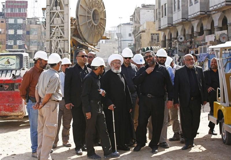 آمادهسازی 30هزار مترمربع از طرح توسعه حرم امام حسین(ع) برای اسکان زائران اربعین